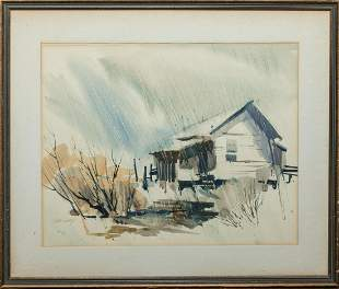 Water Color Painting by Robert Uecker