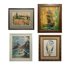 Group Collectible Art Wall Hangings