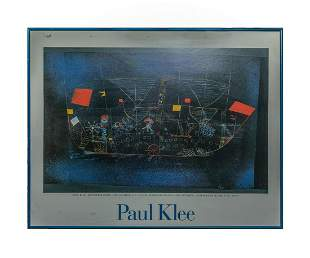 Designed Wall Hanging of Paul Klee