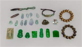 Group Chinese Estate Jewelries