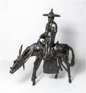 Massive Chinese Bronze Sculpture