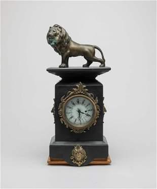 English Royal Type Table Clock