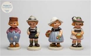 Set Goebel Dolly Dingle Porcelain Figures