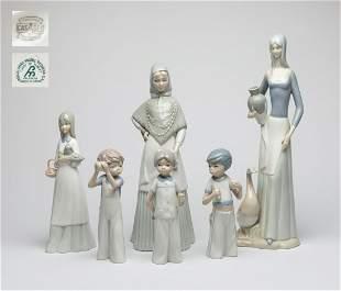 Spain Miquel Requena Porcelain Figures