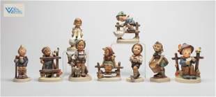 Set German Geobel Porcelain Figures