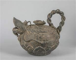 Large 16-17th Korean Antique Pottery Pot