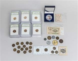 Collectible US World Coin/Paper Money