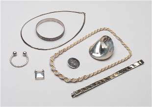 Set 925 Sterling Silver Jewelries