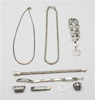 Groups Sterling Silver Jewelries