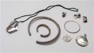 Group Designed Silver Jewelries