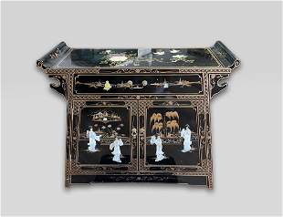 Chinese Export Lacquer Alter Table