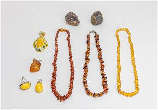 Estate Amber Jewelries