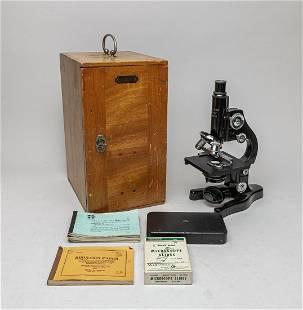 Rare Marcel Wiegandt Microscope