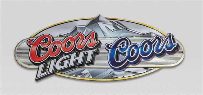 Vintage Coors Light Sign