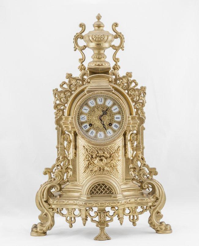 Antique Gilt Bronze Clock