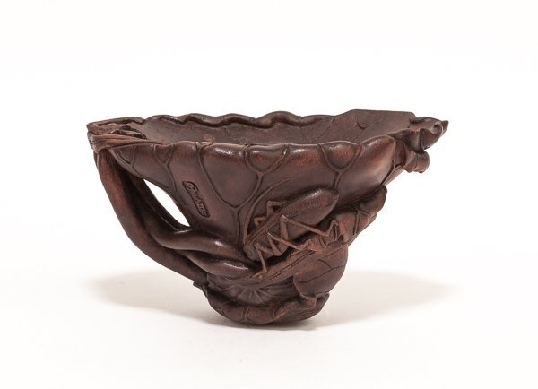 Chinese Antique Agarwood Cup