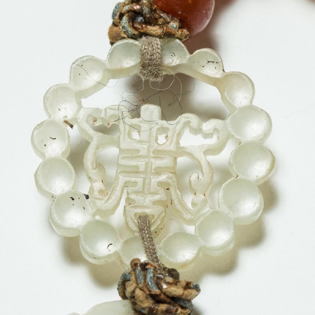 Chinese Antique Pearl Prayer Beads, 19th Century - 5