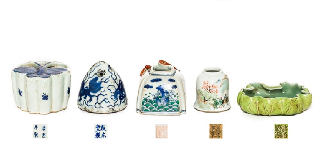 Group Chinese Antique Porcelain, 19th Century