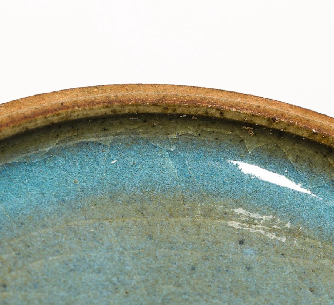 Chinese Antique Flambe-Glaze Porcelain Ink Box Jin Dy - 5