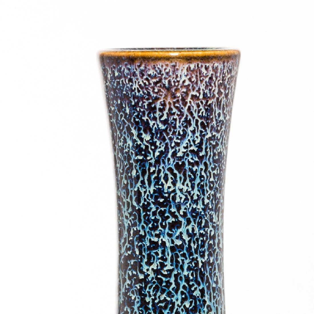 Chinese Antique Flambe-Glazed Porcelain Vase - 5