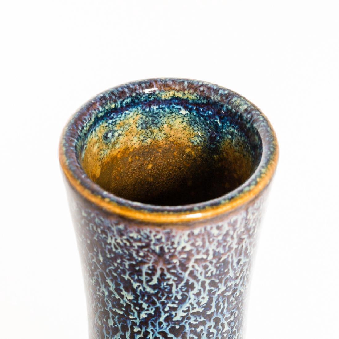 Chinese Antique Flambe-Glazed Porcelain Vase - 8