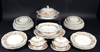 612 Extensive Victorian Booths stone china dinner serv
