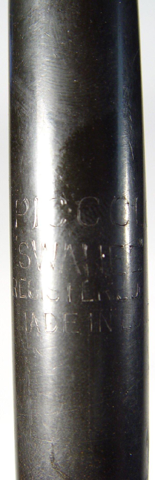 667: 19th Century wooden ocarina with original impresse - 3