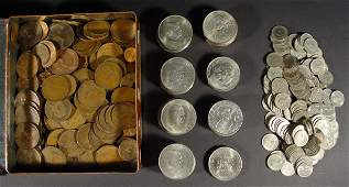 998 Large quantity of mixed coinage including Crowns