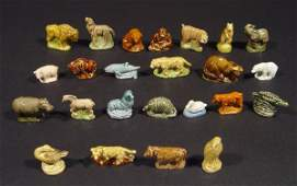 532: Collection of Wade Whimsies including zoo animals