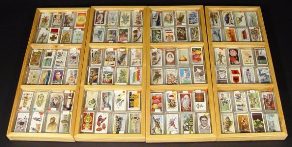 1291: Extensive collection of mixed cigarette cards, so