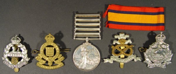 716: Victorian South Africa War Medal with Wittebergen,
