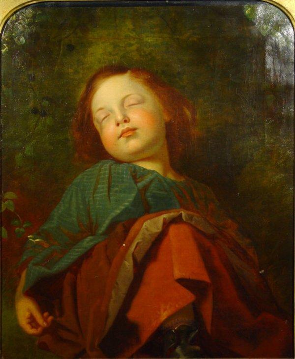913: John Everett Millais - 19th Century oil onto canva