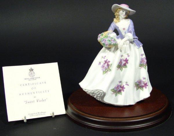 1216: Royal Worcester limited edition figurine 'Sweet V