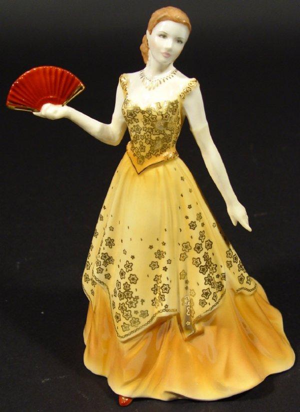 1217: Royal Worcester figurine 'Lauren', Collectors Soc