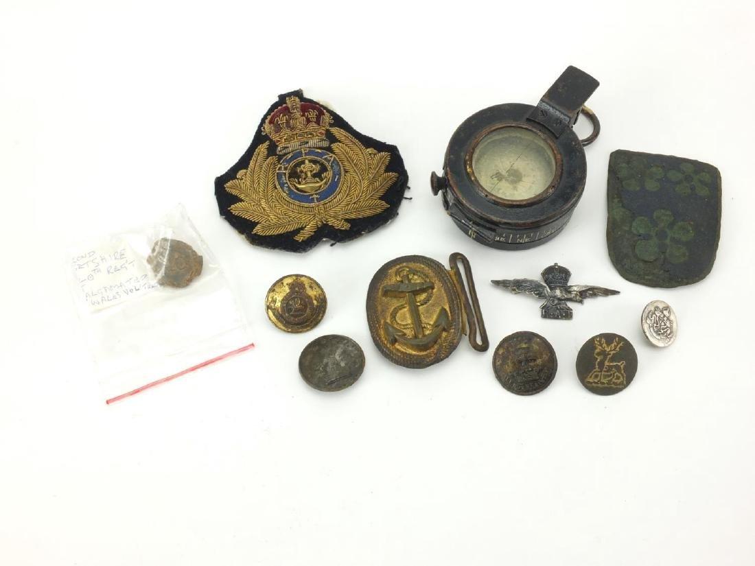 British Military World War II MKIII Compass and other - Jan