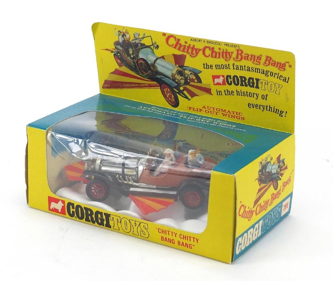 1960's Corgi toys Chitty Chitty Bang Bang with box by