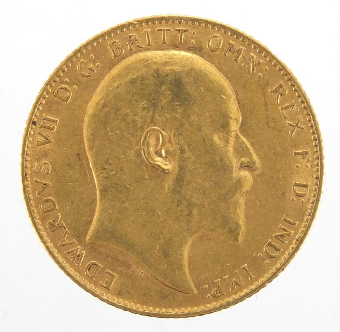 Edward VII 1909 gold sovereign Further condition reports can be found at the auctioneers website