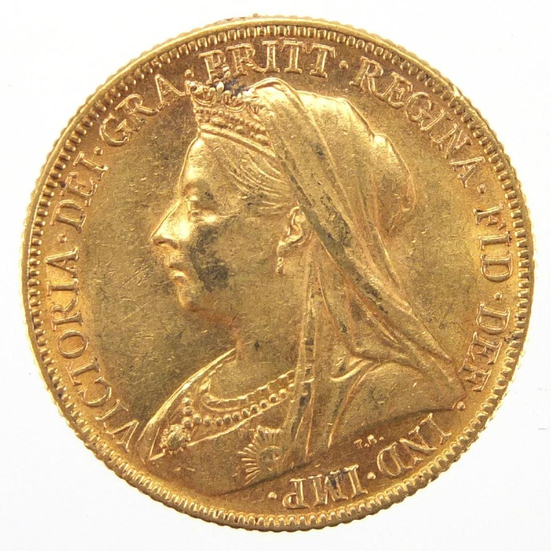 Queen Victoria 1898 gold sovereign Further condition reports can be found at the auctioneers