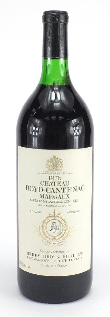 Magnum bottle of Chateau Margaux 1976, specially selected by Berry Bros & Rudd, given for
