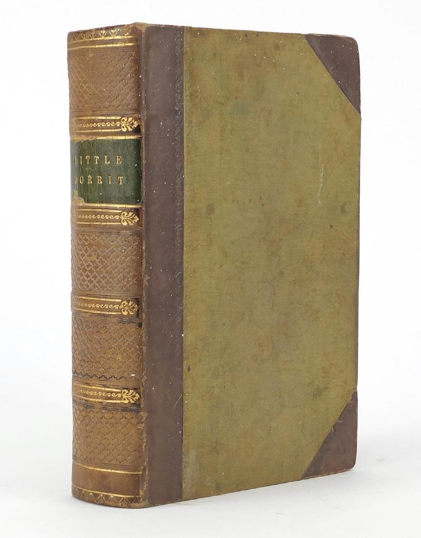 Little Dorrit by Charles Dickens, 19th century hardback book published Bradbury and Evans 1857