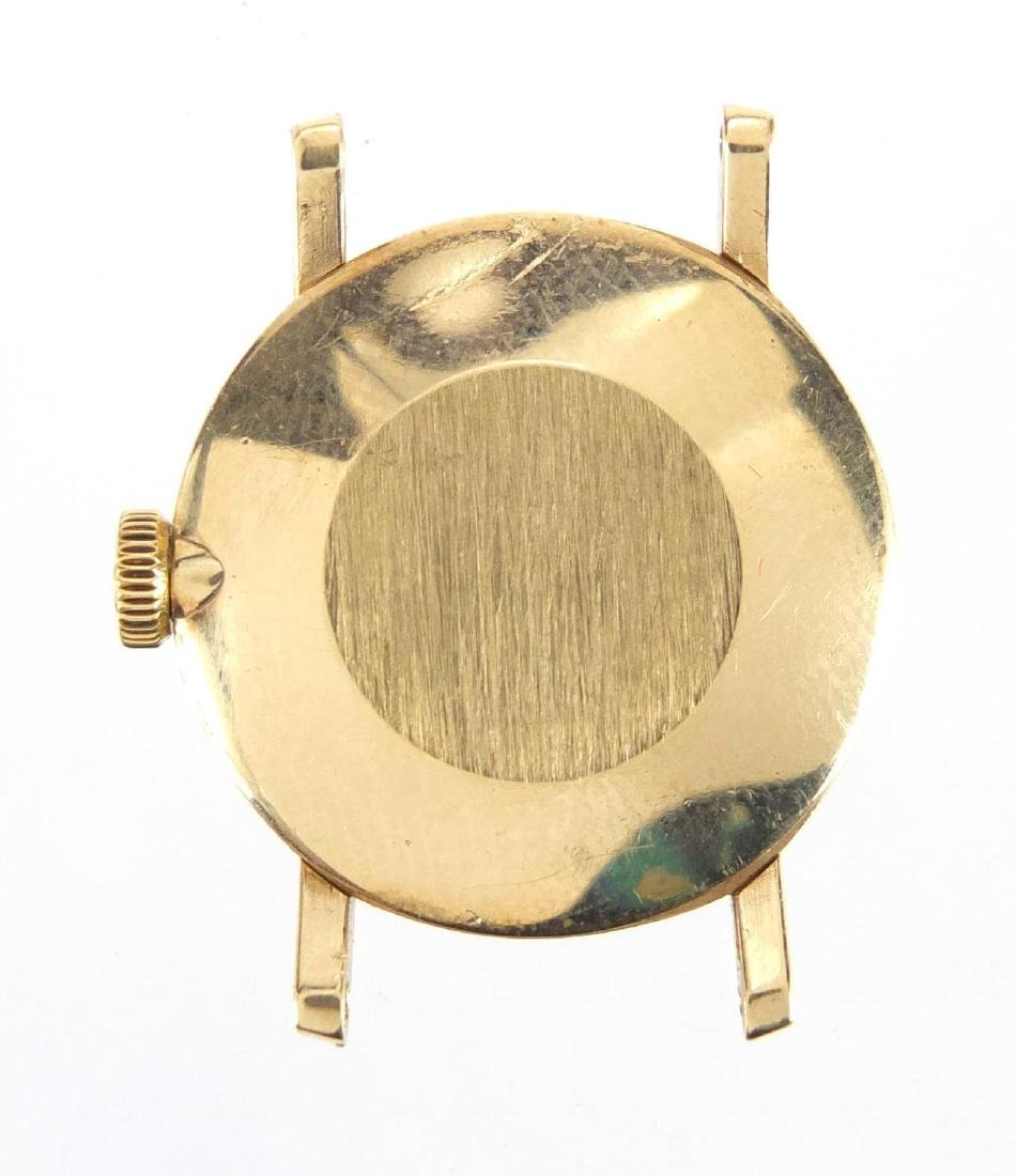 Ladies 9ct gold Omega wristwatch, numbered 30210220 to the movement, with an Omega box and papers - 3