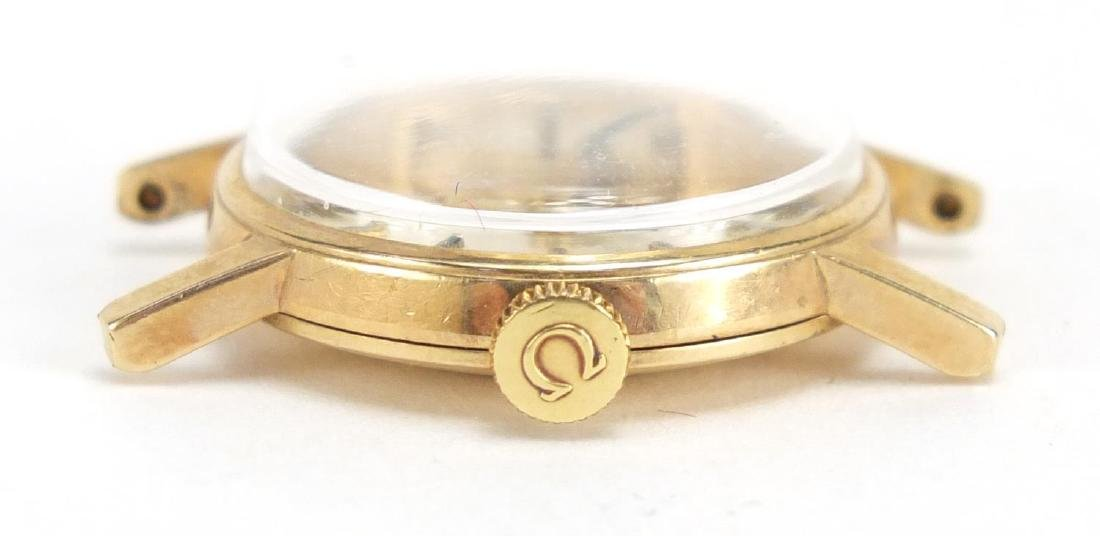 Ladies 9ct gold Omega wristwatch, numbered 30210220 to the movement, with an Omega box and papers - 4