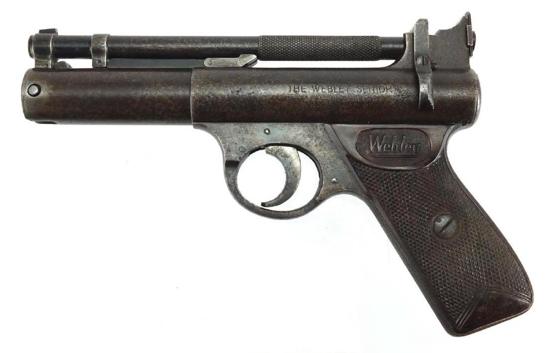 Vintage Webley & Scott, Webley Senior air pistol Further condition reports can be found at the