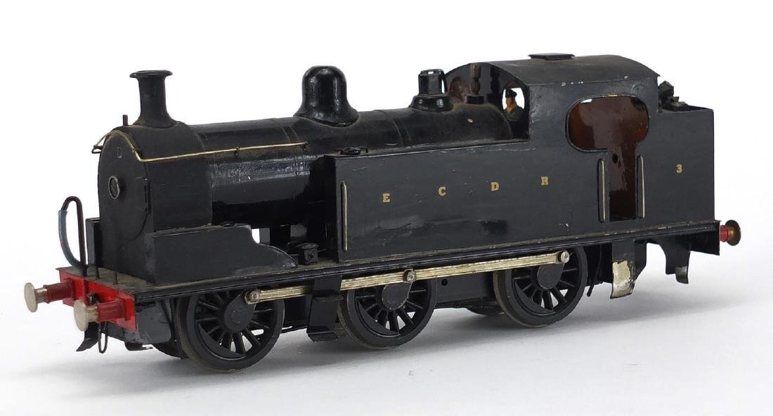 Scratch built O gauge ECDR locomotive Further condition reports can be found at the auctioneers