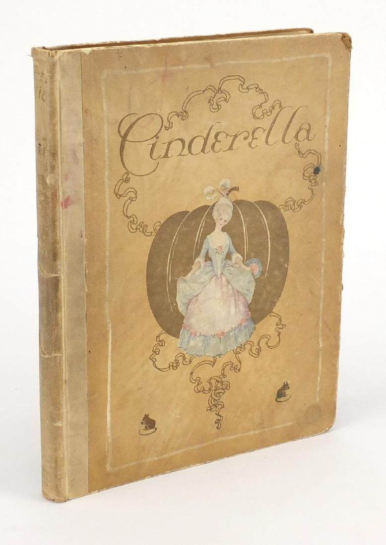 Cinderella hardback book, illustrated by Millicent Sowerby, published New York Hodder and