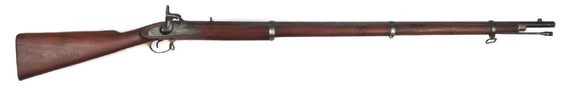 Decorative Enfieled P1853 band rifle musket, various impressed marks, 143cm in length Further