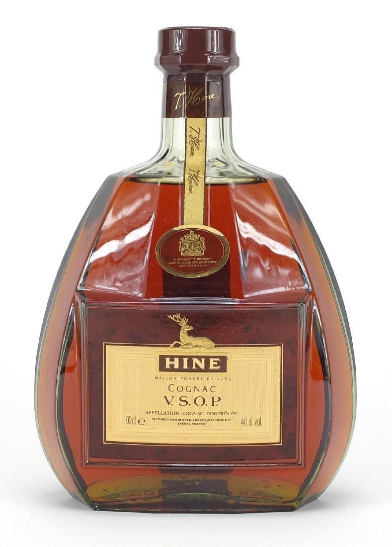 Bottle of Hine V.S.O.P Cognac