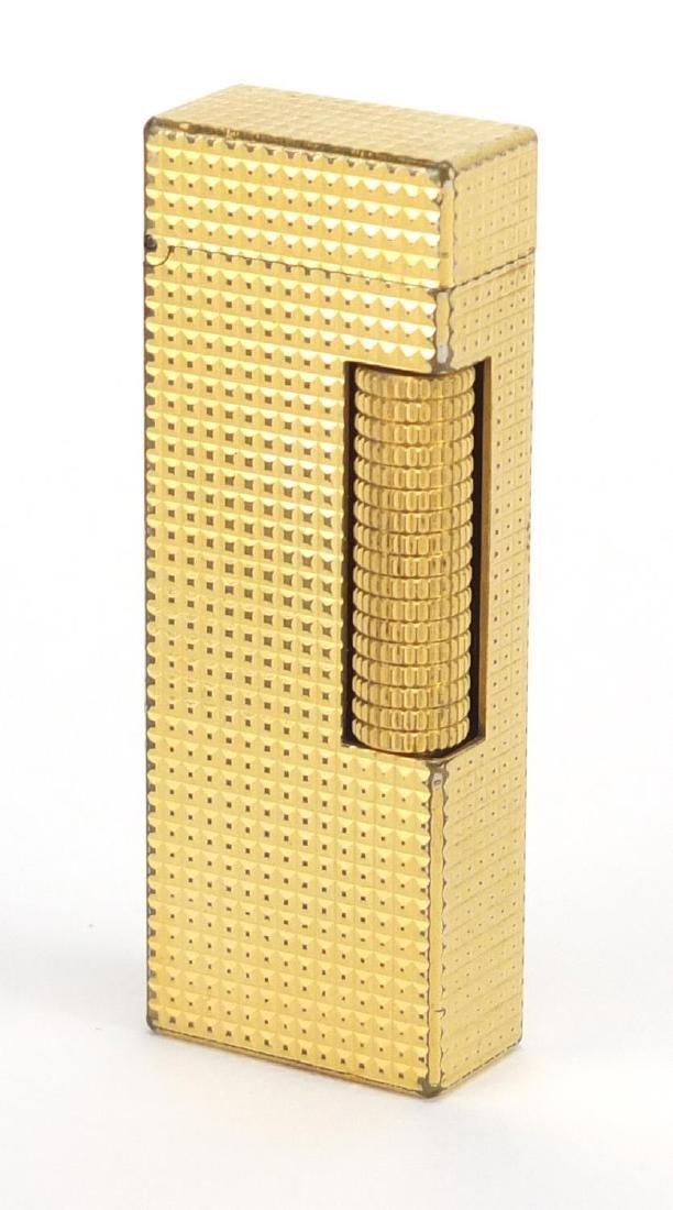 Dunhill gold plated pocket lighter