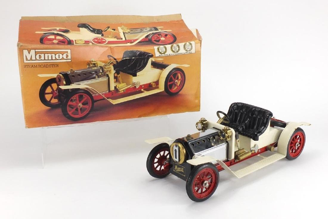 Mamod Steam Roadster SA1, with box, 40cm in length