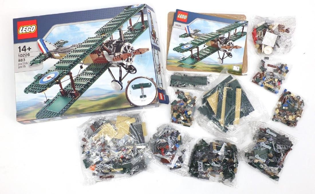 Lego Sopwith Camel model kit 10226 (Bags of Lego still sealed)